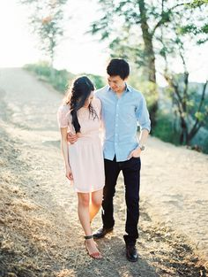 For super hot summer photo sessions!!  California engagement shoot by Erich McVey