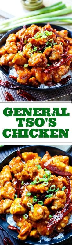 Tso's Chicken General Tso's Chicken - sweet and spicy and better than take-out!General Tso's Chicken - sweet and spicy and better than take-out! Wok Recipes, Asian Recipes, Great Recipes, Chicken Recipes, Dinner Recipes, Cooking Recipes, Favorite Recipes, Healthy Recipes, Cajun Recipes