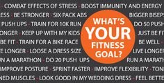 What's your fitness goal?