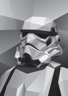 Star Wars: Stormtrooper Art Print
