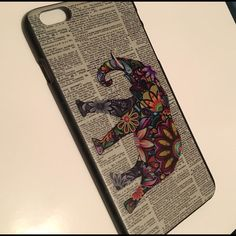 $5 Add on Item! iPhone 6 Plus Elephant Case NWT! Hard Case Accessories Phone Cases