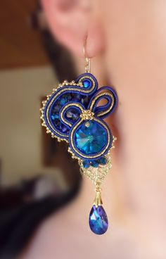 Soutache earrings  SerenIdea Creativa  by Serena Di Mercione