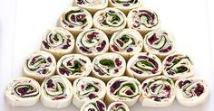 Turkey Cranberry Pinwheels are a perfect appetizer for bringing to any holiday gathering. They're quick and easy to make. Christmas Potluck, Christmas Dishes, Christmas Snacks, Christmas Parties, Xmas Food, Xmas Party, Christmas Goodies, Work Potluck, Potluck Dishes