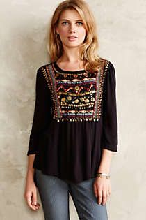 Anthropologie - Ari Embellished Tunic