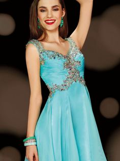 2015 A-line V-neck and Back Short Prom Dress /Homecoming/ Bridesmaid Dress sweet sixteen dress 3619 alyce