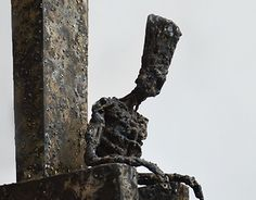 The tired lord. Welded steel.