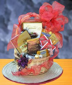 Sweet Delights Gift Basket-Elegant Gifts AZ,#Unique Gifts,#Gift Ideas,#Christmas Gift Baskets,#Handmade Holiday Gifts-Elegant Gifts