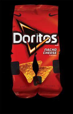 Doritos Nacho Cheese CUSTOM Nike Elites Multi-Color — Luxury Elites