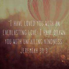 He loves us