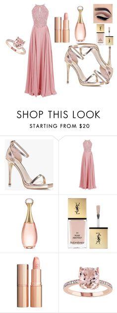 """Formal Dress"" by osirisarambuloh on Polyvore featuring moda, Boohoo, Christian Dior, Yves Saint Laurent y Charlotte Tilbury"