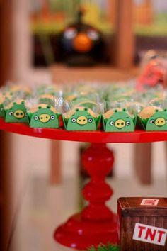 Encontrando Ideias: Festa Angry Birds!!
