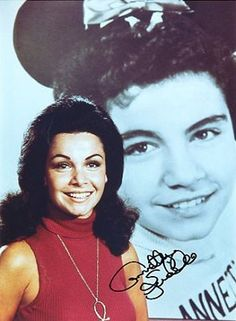 Annette Funicello Disney Mickey Mouse Club Cheerleader Joined Bear, Bears Dolls & Bears
