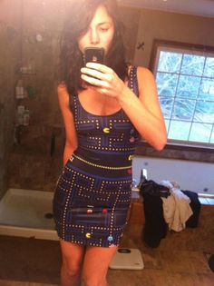 Pac-Man dress