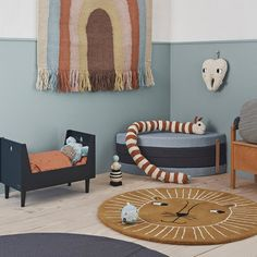 Create the perfect modern nursery with our OYOY Lion Rug. Our luxury Scandinavian nursery mats come in an stylish caramel brown pattern that's a perfect addition to any bedroom. Girls Room Paint, Nursery Decor, Room Decor, Kid Spaces, Boy Room, Kids Bedroom, Room Inspiration, Kids Rugs, House