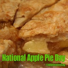 National Apple Pie Day - May 13, 2017