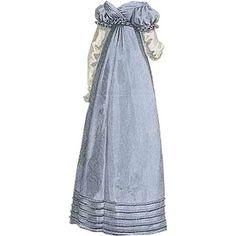 1817 Regency Dress