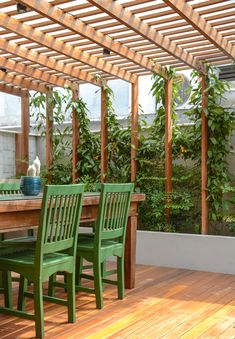 Pergola Patio, Backyard Patio, Patio Flooring, Front Porch, Outdoor Structures, Building, House, Balcony, Nova