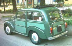 Fiat 500 Giardiniera Belvedere del 1955