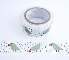 Small Birds - Shinzi Katoh Washi Tape
