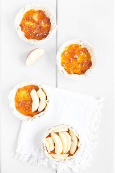 Cro'K'Mou - Blog culinaire - Food & Photography: Tartelettes à la gelée de mirabelles et pommes caramélisées
