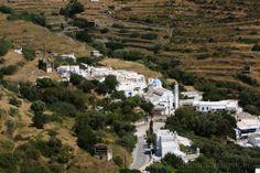The village of Potamia, Tinos Island