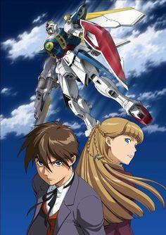 Mobile Suit Gundam Wing - XXXG-01W Wing Gundam, Heero Yuy, Relena Peacecraft Gundam Wing, Gundam 00, Arte Gundam, Gundam Seed, Gundam Build Fighters, Mecha Anime, Heero Yuy, Wings Wallpaper, Gundam Astray