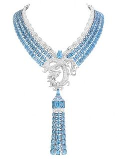 Van Cleef dragon necklace