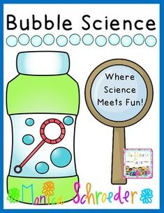 Bubble Science - for 1st and 2nd graders Friends~Are you ready to captivate your students? Bubble Science is the unit for you. You will venture into the world of liquids, air, and surface tension while connecting with reading and writing through fantastic science experiments.