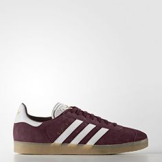 timeless design b5270 29d43 Adidas Gazelle Mens Shoes Maroon White Gold Met. Bb5505 Zapatillas Adidas  Gazelle, Adidas Gazelle