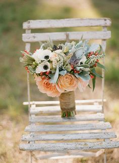 A mix of soft colors and various textures- vintage wedding bouquet Floral Bouquets, Wedding Bouquets, Bouquet Flowers, Plan My Wedding, Dream Wedding, Wedding Themes, Wedding Decorations, Wedding Ideas, Wedding Images