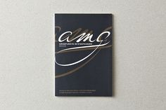 AMG Corporate Identity by Andreas Hidber, via Behance