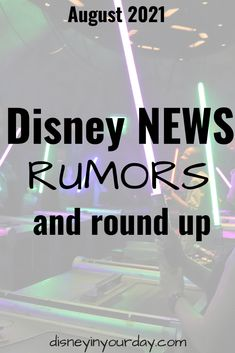 Disney news, rumors, and round up: August 2021 - Disney in your Day Disney World Vacation Planning, Disney Tourist Blog, Disney Planning, Disney World Trip, Disney Tips, Disneyland Hotel, Disney Website, Disney Fanatic, Thing 1