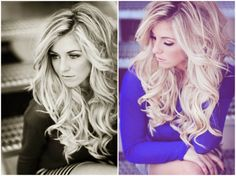 I wish I could get my hair to do this!!