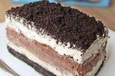 Μπισκοτογλυκό ψυγείου... της στιγμής με ζαχαρούχο γάλα - Γεύση & Συνταγές - Athens magazine Pudding Desserts, Oreo Pudding Cake, Chocolate Pudding, Chocolate Recipes, Dessert Recipes, Oreo Dessert, Cake Recipes, Desserts Oreo, Dessert Ideas