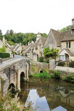 17 Beautiful Small Towns in Europe You Must Visit - This Darling World Places To Travel, Places To See, Small Places, Travel Destinations, England Countryside, The Cotswolds England, Countryside Village, British Countryside, Cornwall England