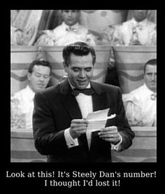 Ricky, don't lose that number...