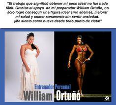 Testimonio - Entrenador William Ortuño - Culturismo http://williambodybuilder.com/ http://fuerzamaximawilliam.wordpress.com/