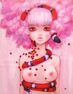 Innocent Eve by Camilla D'errico pop surrealism art
