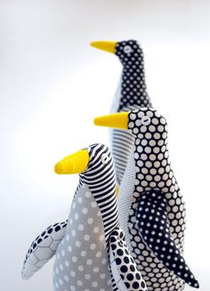 Penguin, free template from Purl Bee