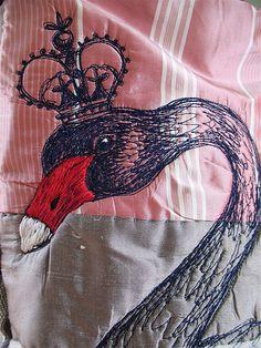 Morpeth Shoulder Bag order- Empire Swan, April 2010, detail | Flickr - Photo Sharing!