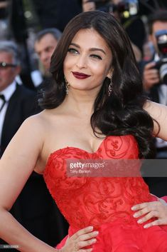 Aishwarya Rai attends the '120 Battements Par Minutes (120 Beats Per Minute)' screening during the 70th annual Cannes Film Festival at Palais des Festivals on May 20, 2017 in Cannes, France.