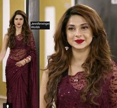 """All photography courtesy of Sherwin-Williams. Paint manufacturer Sherwin-Williams has selected """"Poised Taupe"""" as the 2017 Color of the Year. Indian Dresses, Indian Outfits, Saree Dress, Lehanga Saree, Net Lehenga, Saree Look, Elegant Saree, Fancy Sarees, Saree Styles"""