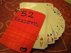 V-day 52 Reasons Cards