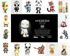 """Huck Gee & Clutter Gallery: """"The Blank Show"""" / Прочее / Всё о дизайнерских виниловых игрушках - Vinyltoys.kz"""