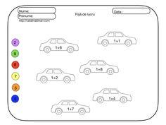 Adunarea si scaderea cu 1 în concentrul 1-10. Tematica- Mijloace de trasport. 20 de materiale. – Catalina Bîrsan