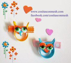 Pasadores para el pelo con figuras de moda : cositasconmesh