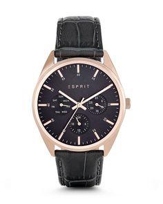 Esprit Quarzuhr GLANDORA GREY ES106262013 dunkelgrau bestellen • VALMANO