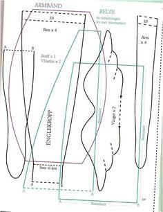 AMARNA IMAGENS: BONECA TILDA - com molde