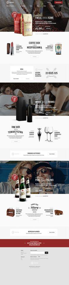 Unique Web Design, Subclub #WebDesign #Design