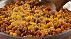 ReadySetEat - Chuckwagon Beef and Bean Skillet - Recipes